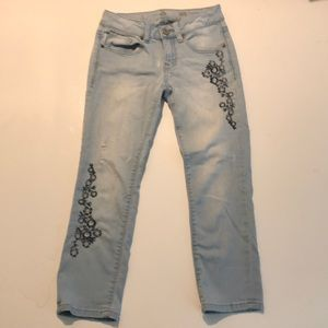 Denim - Embroidered Denim